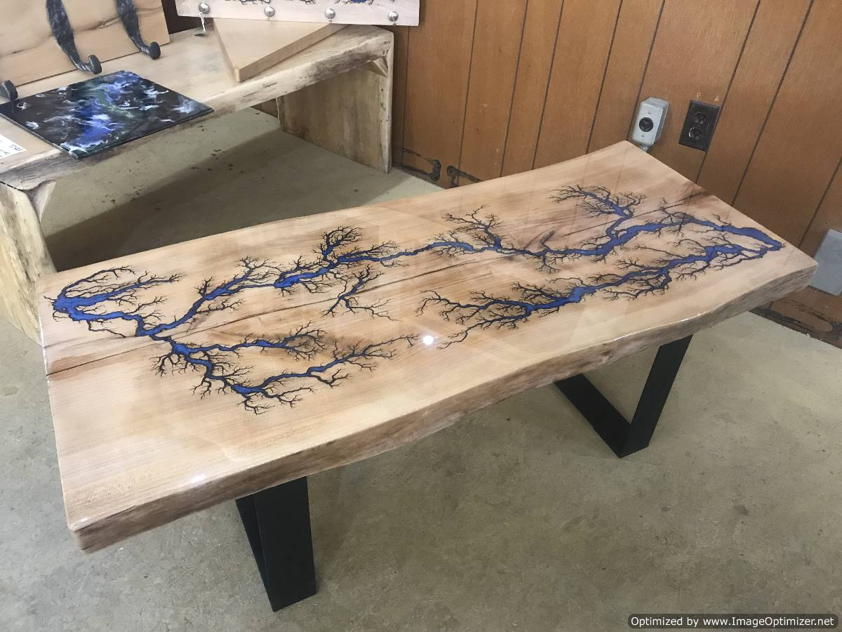 Cool Live Edge Table!