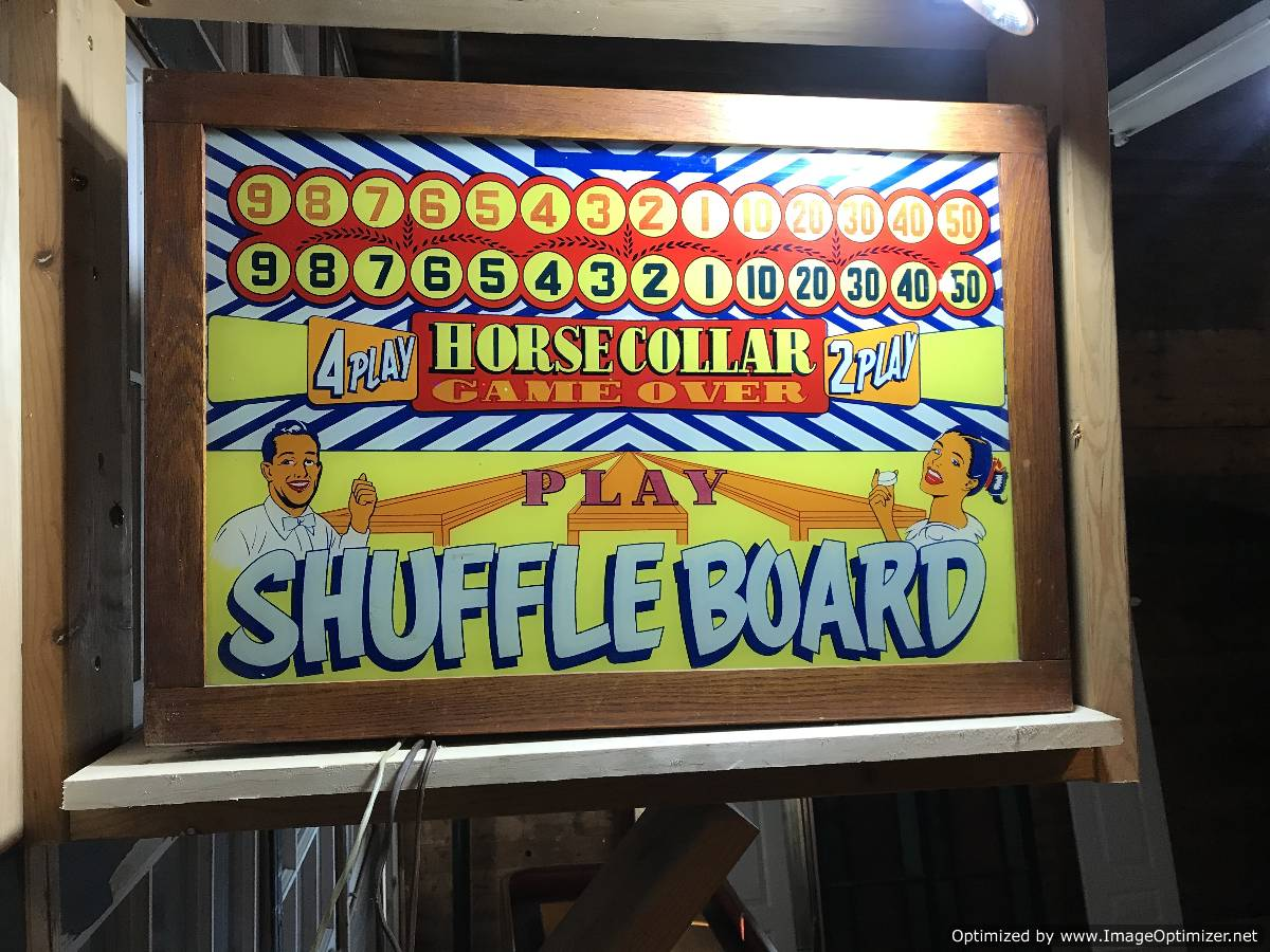 Shuffleboard Table